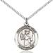 St. Uriel Necklace Sterling Silver