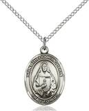 St. Theodore Necklace Sterling Silver