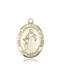 Our Lady of Knots Necklace Solid Gold