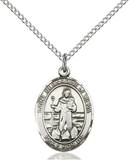 St. Bernadine Necklace Sterling Silver