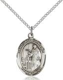 St. Jacob Necklace Sterling Silver