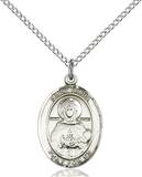 St. Daria Necklace Sterling Silver
