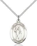 St. Columbkille Necklace Sterling Silver