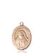 St. Alphonsus Necklace Solid Gold