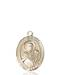 St. Viator Necklace Solid Gold