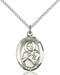 St. Viator Necklace Sterling Silver