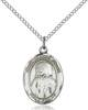 St. Jeanne Necklace Sterling Silver