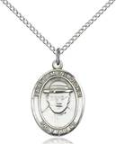 St. Damien of Molokai Necklace Sterling Silver
