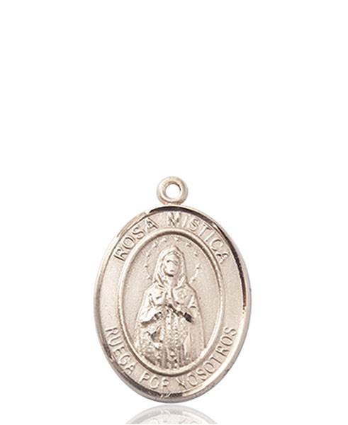 Our Lady of Rosa Necklace Solid Gold