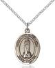 Our Lady of Kibeho Necklace Sterling Silver