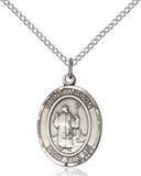 St Maron Necklace Sterling Silver
