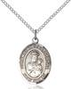 Our Lady of Czestochowa Necklace Sterling Silver