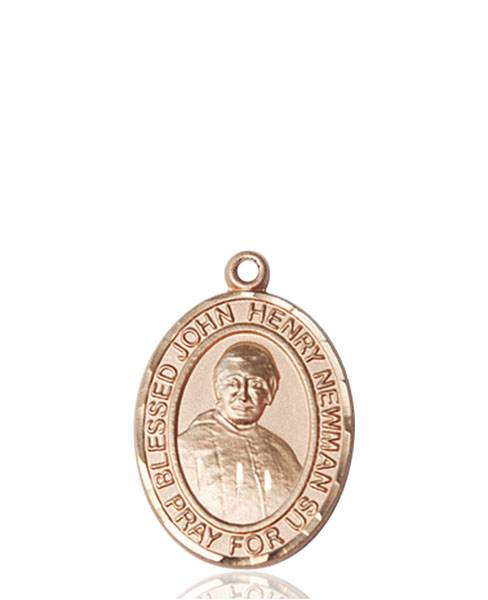 Blessed John Henry Necklace Solid Gold