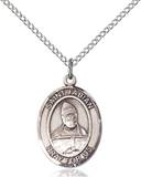 St. Fabian Necklace Sterling Silver