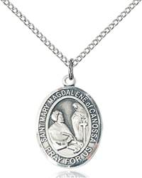 St. Mary Necklace Sterling Silver