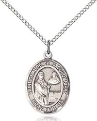 St. Claude Necklace Sterling Silver