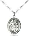Guardian Angel W/Children Pendant