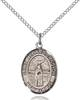 St. Medard Necklace Sterling Silver