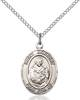 St. Norbert Necklace Sterling Silver