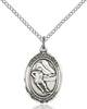 St. Sebastian / Hockey Pendant St. Sebastian / Hockey ,Athletes and Soldiers,Patron Sports,Hockey, sterling silver medals, gold filled medals, patron, saints, saint medal, saint pendant, saint necklace, 8604,7604,9604,7604SS,8604SS,9604SS,7604GF,8604GF,9604GF,