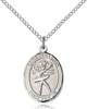 St. Sebastian Necklace Sterling Silver