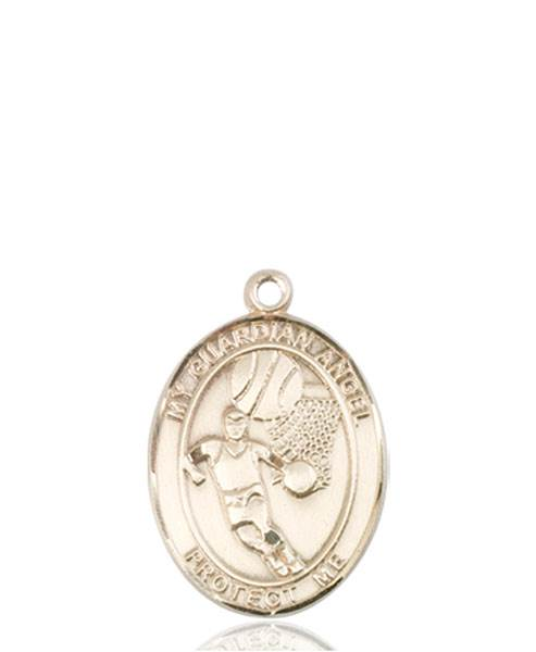 Guardian Angel Necklace Solid Gold