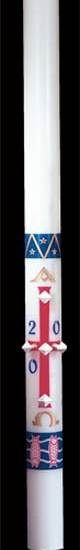 Benedictine Paschal Candle Paschal Candle, Easter Candle, Paschal, Easter, Cathedral Candle, Benedictine, Beeswax, candle, Beeswax candle, Easter Vigil,80402001,80403001,80403501,80404001,80404201,80405201,80404501,80405001,80406001,80407001,80408001,80406501,80408501,80400001,80409001,80411001,80415001,80420001