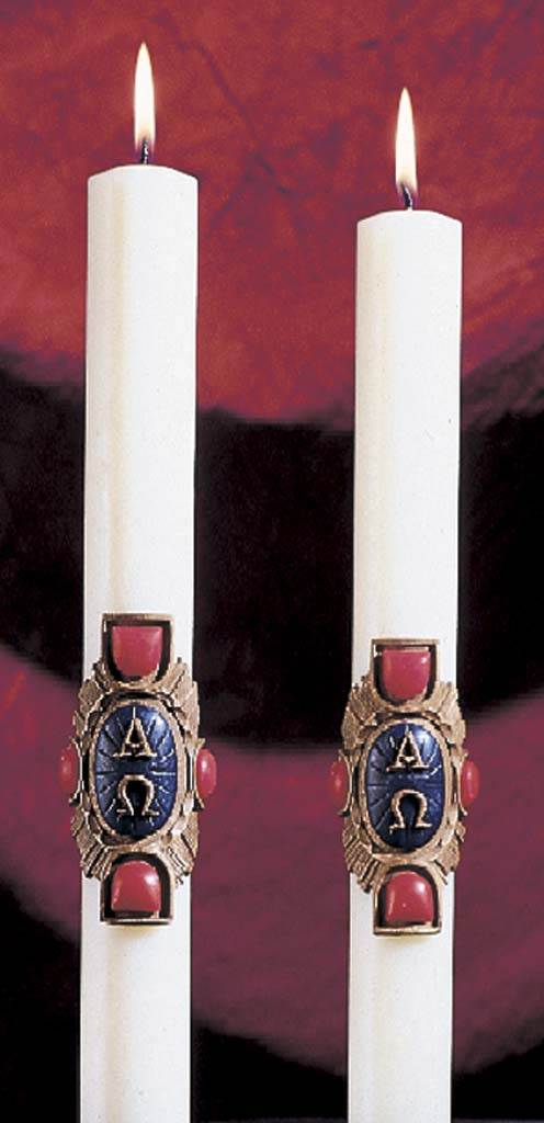 Christ Victorious® Complementing Altar Candles Christ Victorious® Complementing Altar Candles,80962502,80962602,80965502,80965602
