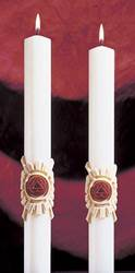 Holy Trinity Complementing Altar Candles