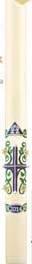 Easter Lily Paschal Candle Paschal Candle, Easter Candle, Paschal, Easter, Dadant, easter lily,Lent,Beeswax, candle, Beeswax candle, Easter Vigil,60532, 59532, 60832, 61032, 61132, 61232, 58432, 61332, 61432, 61532, 62332, 61632, 68032, 68132