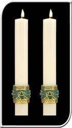 Celtic Imperial Side Altar Candles