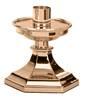 445-L Altar Candlestick altar candlestick, candle holder, bronze, high polish, satin, church goods, altar supplies, excelsis, progressive bronze, 445-L