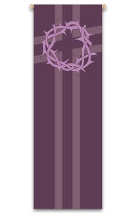 Purple Crown of Thorns Banner