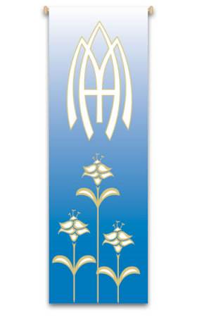Marian Blue Our Lady Banner