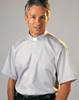Classico Grey Short Sleeve Clergy Shirt by Slabbinck