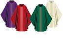 3111-4 Ornata Gothic Chasuble in Brugia Fabric 3111, 3111-4, Chasuble, Slabbinck, Ornata, Brugia, Gothic Chasuble, orpheys, vestment, priest garment, vestment, apparel, chasable