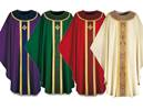 3358 Gothic Chasuble in Brugia Fabric