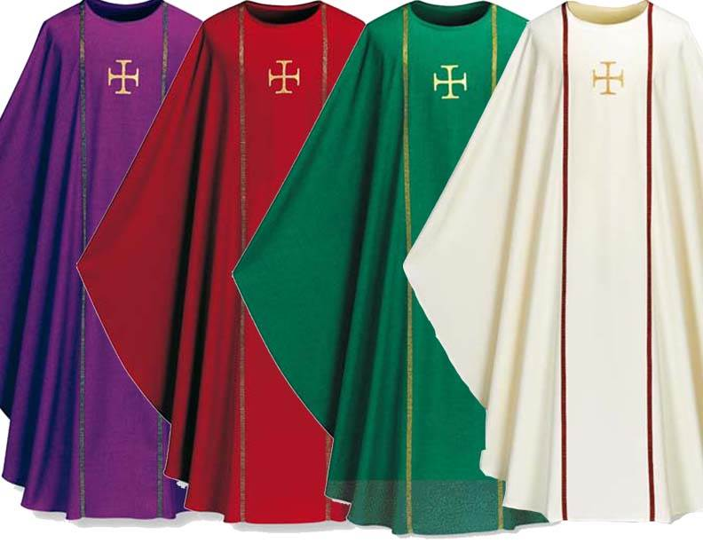 3576 Washable Pius Chasuble