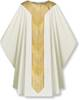 3851 Gothic Chasuble in White Cantate Fabric