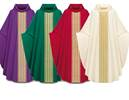 3977 Gothic Chasuble in Brugia Fabric