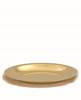 4500G Large Dish Paten church goods, church supplies, paten, communion supplies, gold plated, 4500g, large dish