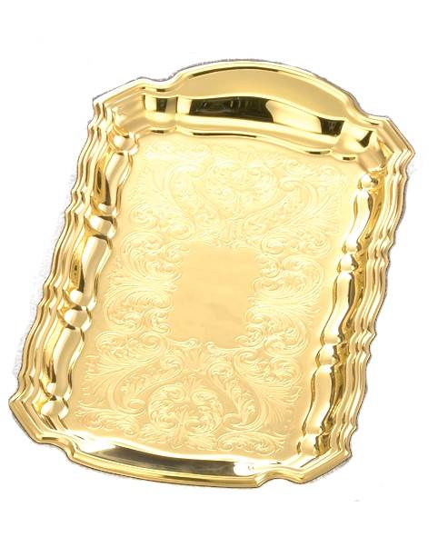 506G Gold Plated Cruet Tray