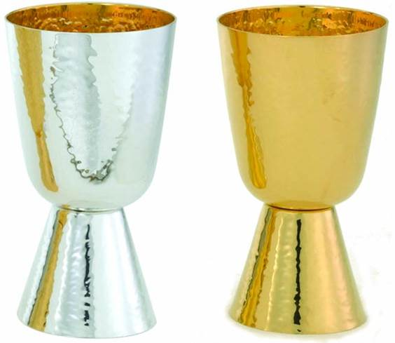 715 Hammered Finish Communion Cup