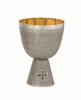 719S Communion Cup cup, serving cup, church goods, church supplies, communion sets, gold plated, mass cup, alviti creations, 719S