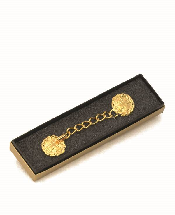8426G Cope Clasp  clergy apparel , cope clasp, gold plated, accessory, 8426g, alviti creations