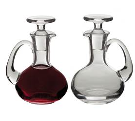 CB-17 Glass Cruet Set