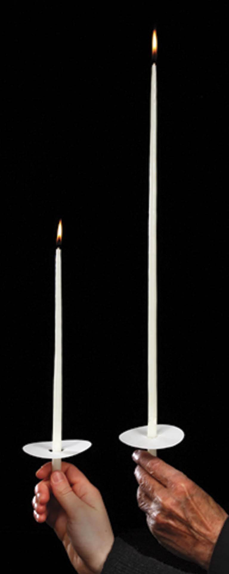 "18"" Congregational Taper Candles"