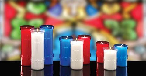 Devotiona-Lites Plastic Offering Lights