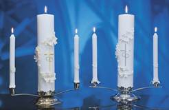 Holy Matrimony Wedding Candle Ensemble