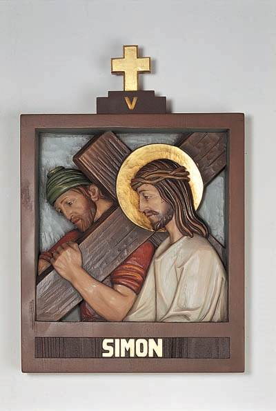 Set of 14 Stations of the Cross - DM1307